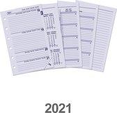 Afbeelding van Kalpa 6235-21 Junior-vulling week-agenda 2021 4-talig