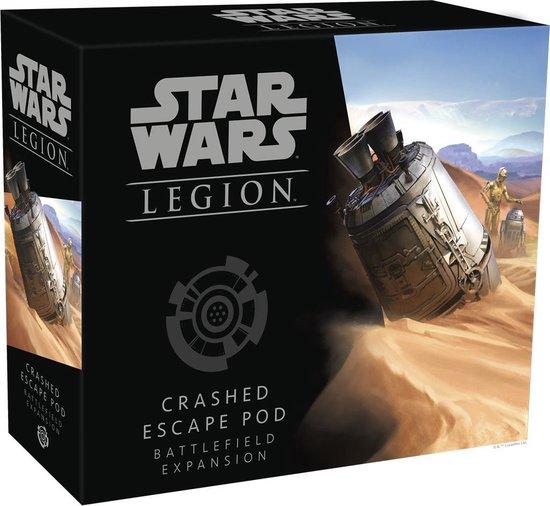 Afbeelding van het spel STAR WARS LEGION CRASHED ESCAPE POD BATTLEFIELD