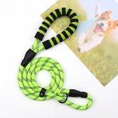 Hondenriem - Sliplijn - Cesar Millan - Trainings halsband- Geel - Pixypet