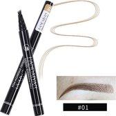 Joya Beauty® Microblading Eyebrow Tattoo Pen   Waterproof Tattoo Wenkbrauw Pen   Wenkbrauwpen   Kleur 1: Fair