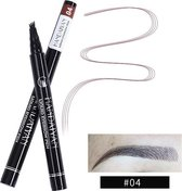 Joya Beauty® Microblading Eyebrow Tattoo Pen | Waterproof Tattoo Wenkbrauw Pen |Kleur 4: Bruin