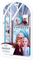 Disney Schrijfset Frozen 13,8 X 25 Cm Blauw 5-delig