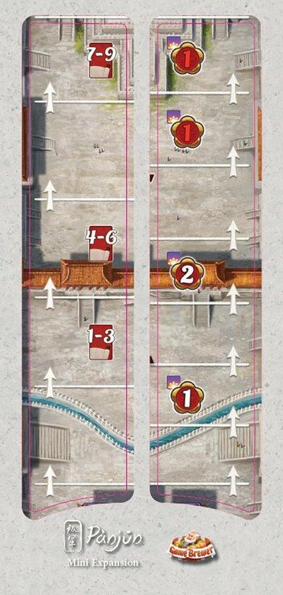 Afbeelding van het spel Gùgong Pànjun mini-uitbreiding