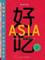 Boek cover Amazing Asia van Emma de Thouars (Hardcover)
