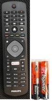 Originele Philips afstandsbediening voor alle Philips smart tv's met Netflix & smart tv toets