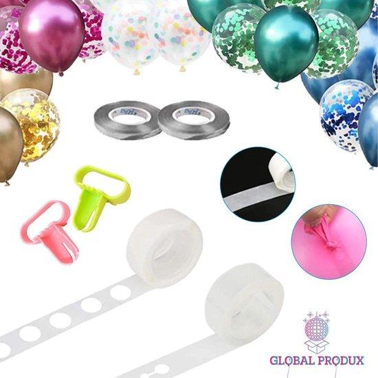 Ballonnen Accessoires met Ballonnenboog Strip|Slingers|Plakkers & Knoper|Verjaardag Versiering