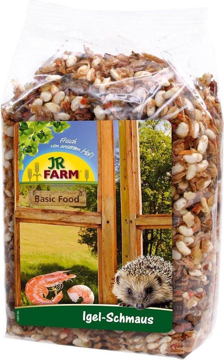 Egel feest-3 x 500 gram-egelvoer-JR Farm