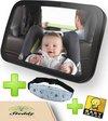 Universele Baby Autospiegel met Hoofdband - Maxi Cosi Spiegel - Kind Auto Accessoires - Achterbank - Veiligheidsspiegel - Hoofdsteun - Autostoel