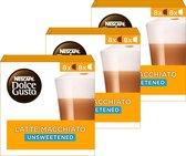 Nescafé Dolce Gusto capsules Latte Macchiato ongezoet - 48 koffiecups - geschikt voor 24 koppen koffie