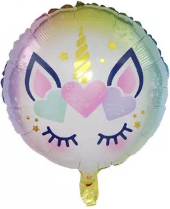 Unicorn-Lila-18-Inch-Folie-Ballon