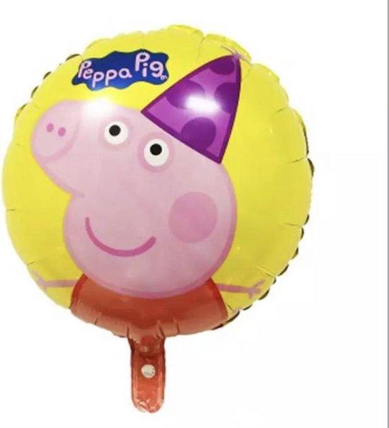 Peppa-Pig-Geel-18-Inch-Ballon