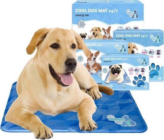 CoolPets Gekoelde Hondenmat - (40x30cm) - Verkoelings mat voor honden - S