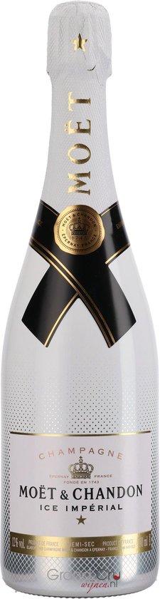 Moët & Chandon Ice Impérial Champagne - Witte wijn - Chardonnay|Pinot Meunier|Pinot Noir - 75 cl