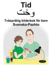 Svenska-Pashto Tid Tvasprakig bilderbok foer barn