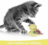 Interactief Speelgoed Kat – Kattenkruid – Catnip - Tandenborstel Kat – Trainings Speelgoed Kat – Multifunctioneel Speelgoed Kat – Katten Speeltje – Speeltje Kitten