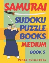 Samurai Sudoku Puzzle Books Medium - Book 5: Sudoku Variations Puzzle Books - Brain Games For Adults