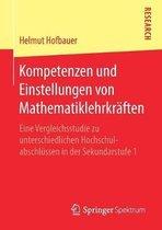 Kompetenzen Und Einstellungen Von Mathematiklehrkraften