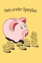 Mein erster Sparplan: A5 Kassenbuch f�r Kinder