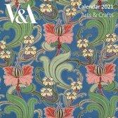 V&A Arts & Crafts Design Mini Wall calendar 2021 (Art Calendar)