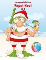 Livro para Colorir de Papai Noel 1 & 2
