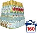 Robijn Klein & Krachtig Kokos Sensation Vloeibaar Wasmiddel - 8 x 20 wasbeurten - Voordeelverpakking