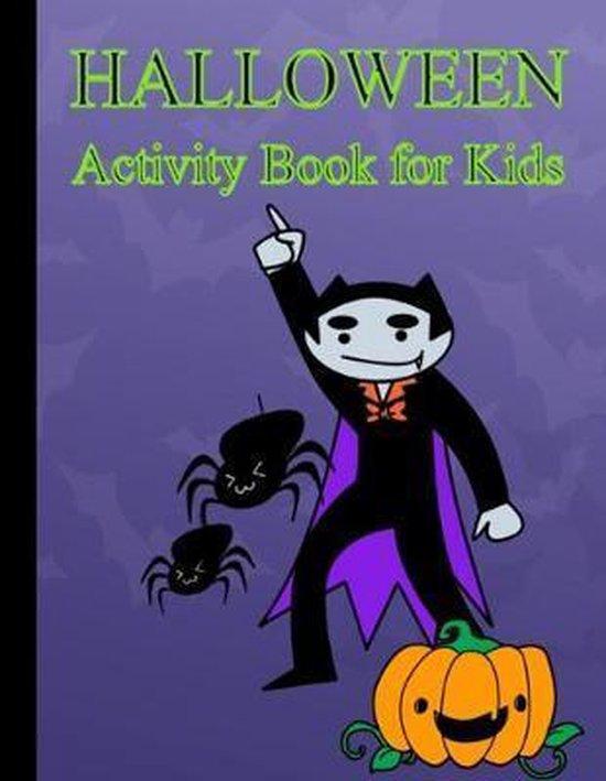 Halloween: Activity Book For Kids
