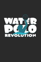 Water polo revolution: 6x9 Water Polo - dotgrid - dot grid paper - notebook - notes