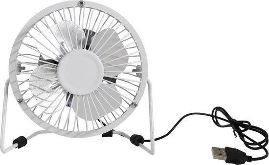 Maxxter Ventilator -USB Ventilator - Zilver