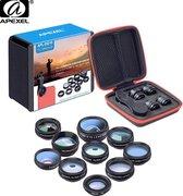 Universele 10 in 1 HD Smartphone Camera Lenzen Kit