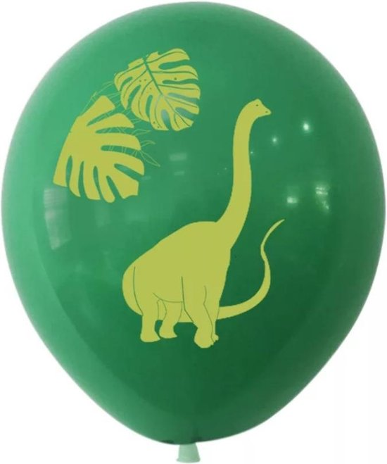 Fabs World ballonnen dinosaurus