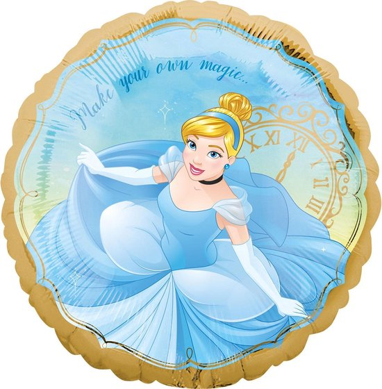 Disney Prinsessen Helium Ballon Assepoester 43cm leeg