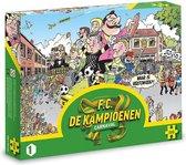 F.C. De Kampioenen puzzel - Carnaval - 500 stukjes