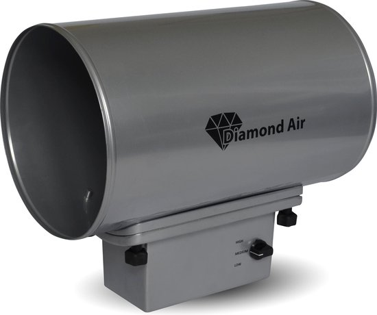 Luchtreiniger - Virussen en Bacteriën - Ozon generator - Diamond Air Pro - DIA-250