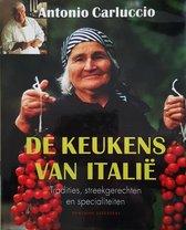 Boek cover Keukens Van Italie van Antonio Carluccio