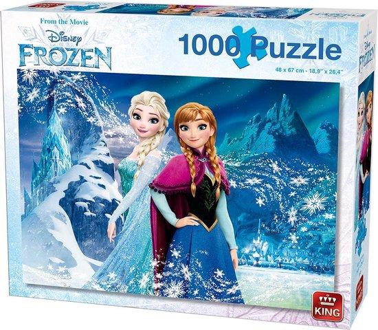 Disney 1000 Stukjes Puzzel - Frozen Collectors Item - King - Legpuzzel 68 x 49 cm