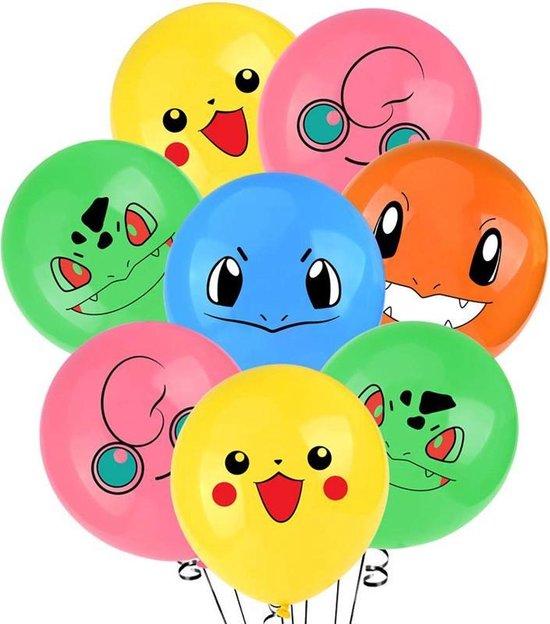 Pokemon feest ballonnen 10 stuks !