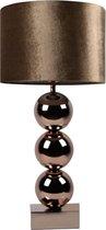 Bollamp - Brons - Tafellamp 3 Bollen