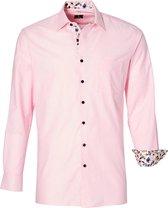 FYREN Comfort fit FYREN Heren Overhemd Maat 4XL
