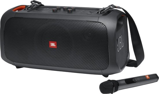 JBL PartyBox On The Go - Draadloze Bluetooth speaker met schouderband