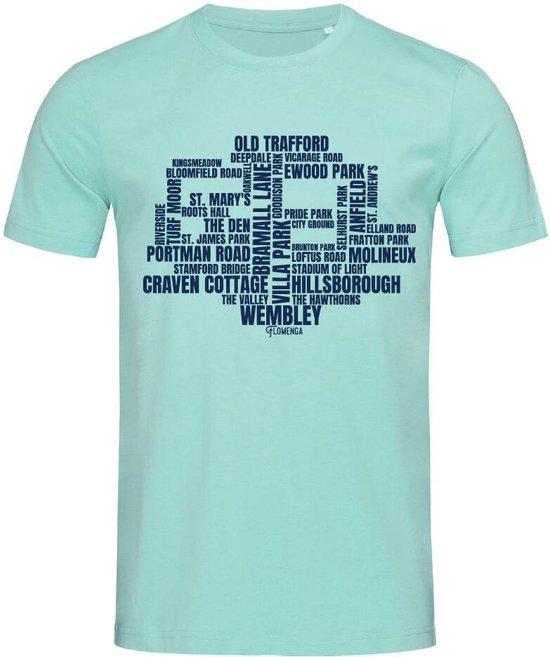 Stedman T-shirt Voetbal | Beroemde Voetbalstadions Engeland James | STE9200 Heren T-shirt Maat L