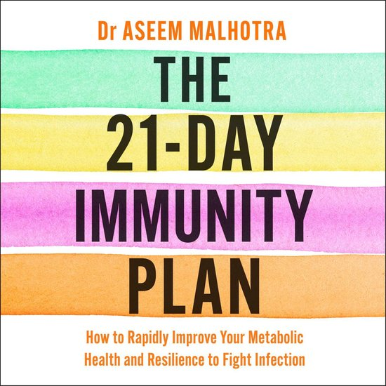 Boek cover The 21-Day Immunity Plan van Dr Aseem Malhotra (Onbekend)