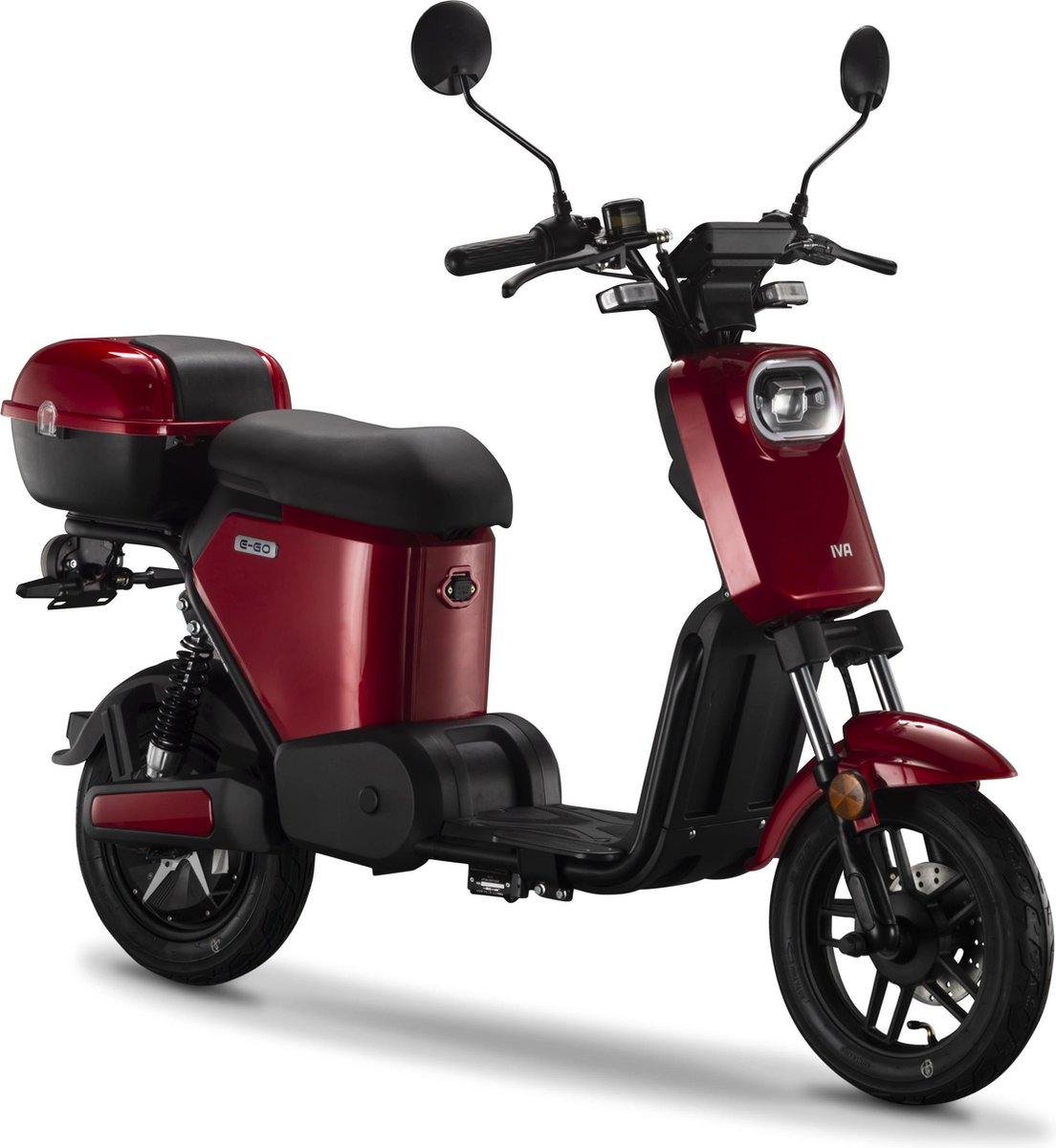 IVA E-GO S2 Elektrische Scooter Rood