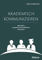 Boek cover Akademisch Kommunizieren van Klaus Anderseck