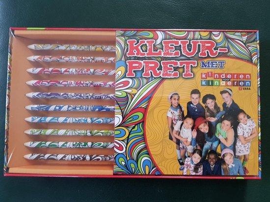 Boek cover Kleurpret met Kinderen voor kinderen van  (Paperback)