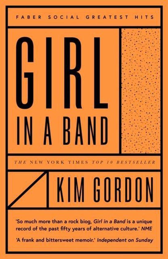Boek cover Girl in a Band van Kim Gordon (Paperback)