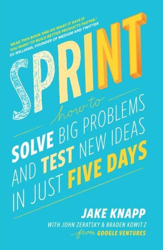 Boek cover Sprint van Jake Knapp (Paperback)