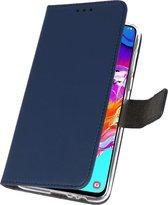 Bestcases Pasjeshouder Telefoonhoesje Samsung Galaxy M31 - Navy