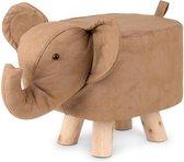 Kinder krukje - dierenkrukje poef olifant