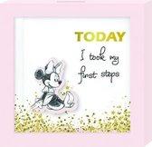 Disney Spaarpot Minnie Mouse 16 Cm Meisjes Hout Roze/wit