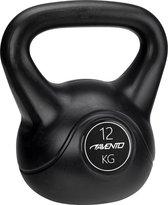Avento Kettlebell - 12 kg - Zwart